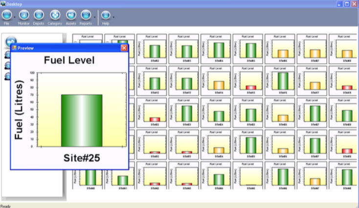 fuel level monitoring gps fleet tracking software